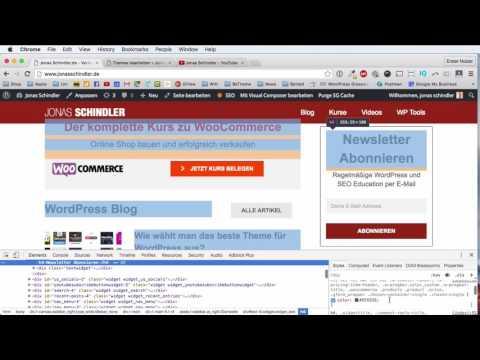WordPress CSS Tutorial DEUTSCH – Das musst du drauf haben!