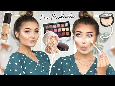 FULL FACE OF MY CURRENT FAVE PRODUCTS! MAKEUP YOU NEED TO TRY!