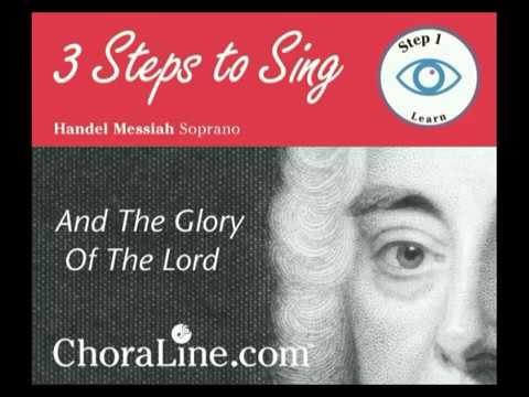 SOPRANO PART Handel Messiah - And the glory of the Lord 0- www ...