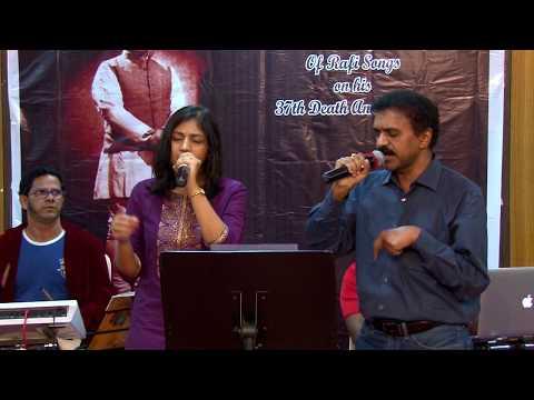 Mitwa Mere Meet Re by Sreekumar Nair & Nikita Daharwal at Jashn Rafi Special