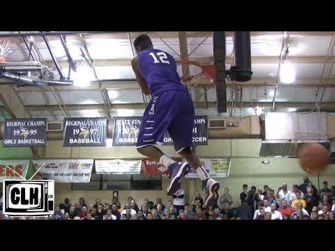 Nick Billingsley shows his bounce at 2012 City of Palms - Omaha Central High School
