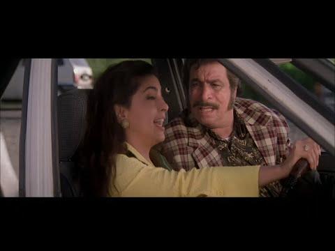 Mr & Mrs Khiladi Movie Comedy Scene Kader Khan Juhi Chawla Johny Lever Car Accident.Full HD