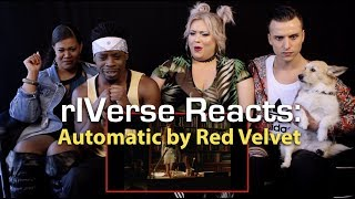 riverse reacts automatic by red velvet mv reaction