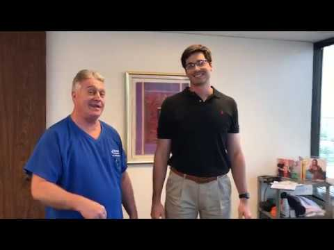6 Foot, 6 Inch Houston Man Gets First Adjustment at Advanced Chiropractic Relief