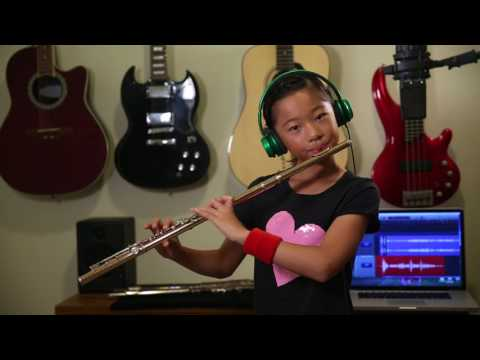 Flight of the Bumblebee by Emma He (210bpm with circular breathing)