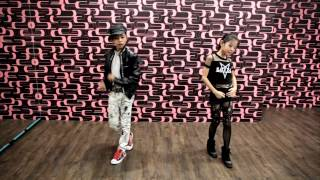 """Trouble Maker """"Now"""" Cover - """"Mini DF - 冠佑&Eavy"""" From Taiwan 舞朝工作室 Dance Force"""
