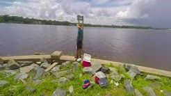 904 Fishing Stinson Park in Jacksonville Florida