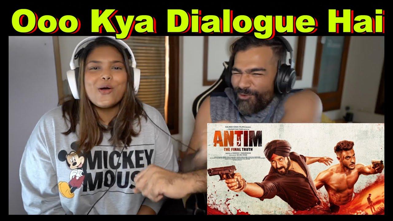 Download Antim : The Final Truth  Trailer Reaction | Salman Khan, Aayush Sharma | The S2 Life