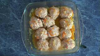Рецепт Тефтели с брюссельской капустой
