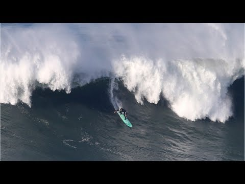 Surfing Hurricane Irma's swells leads to pro surfer Zander Venezia's death