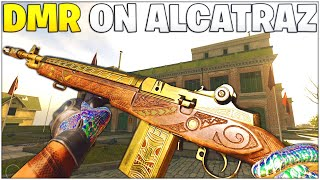 The DMR Is BROKEN Again On Alcatraz - Season 4 Buff *Best DMR Setup* (Rebirth Island - Warzone)