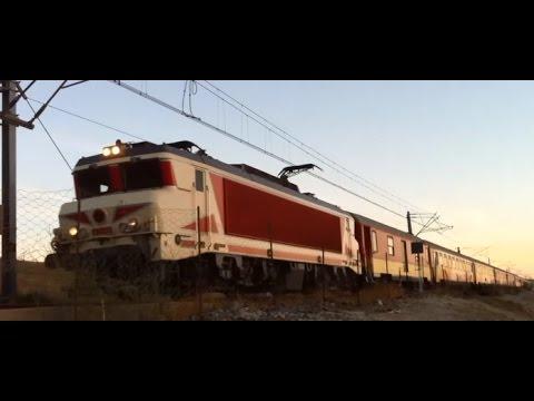 قطار مدينة طنجة 01 10 2015 tangier morocco