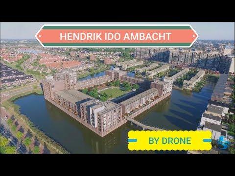 Hendrik Ido Ambacht by Drone DJI Phantom Holland Nederland