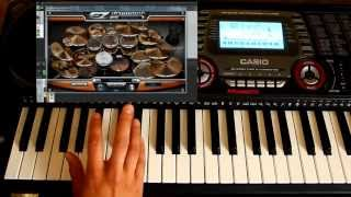 Keyboard-Drum-Improvisation-EzDrummer