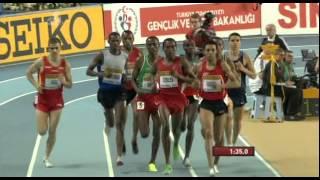 1500м Финал Мужчины - Чемпионат Мира в помещении Стамбул