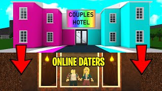 I Captured ONLINE DATERS In My COUPLES ONLY Hotel.. I EXPOSED Them! (Roblox)