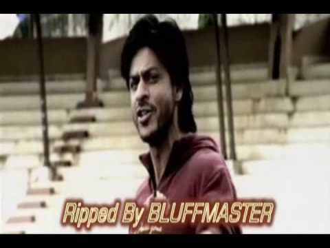 the passionate song scene of SRK from chak de india