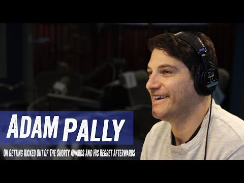 Adam Pally On Getting Kicked Out of The Shorty Awards And His Regrets Afterwards  Jim & Sam