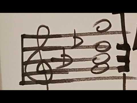 Simple graphics show structure of Baroque improvisation