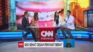Gigi Sehat Cegah Penyakit Berat; Maria Harfanti & Dokter Gigi Andy