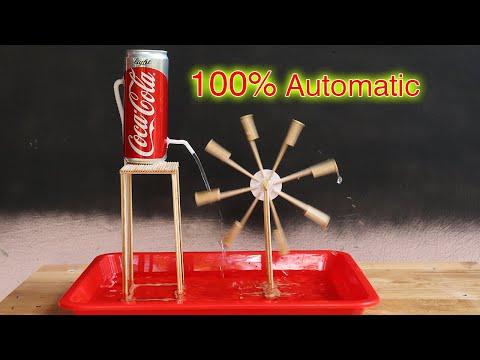 Membuat Kincir Air dari Bambu otomatis yang menakjubkan