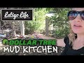 DOLLAR TREE HAUL FOR OUR MUD KITCHEN || Family vlog