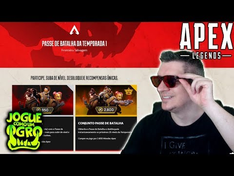 APEX LEGENDS | SAIU O PASSE DE BATALHA - TUDO SOBRE SEASON 1 DO BATTLE PASS!