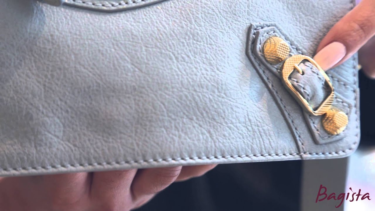 The Genuine Article  Authenticating a Balenciaga handbag - YouTube 827d591af0189