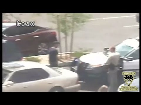 Las Vegas PD Officer Only Has Split Second to React | Active Self Protection