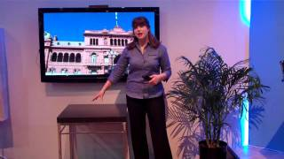 Panasonic / Skype Demonstration at CES 2010 (Emilie Barta, Trade Show Presenter)