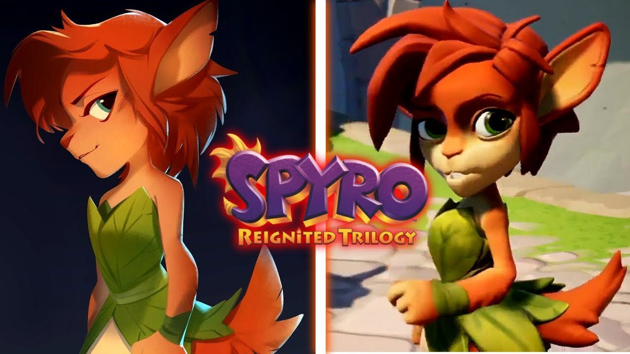 Elora First Look Spyro Reignited Trilogy Glimpse Of Summer Forest
