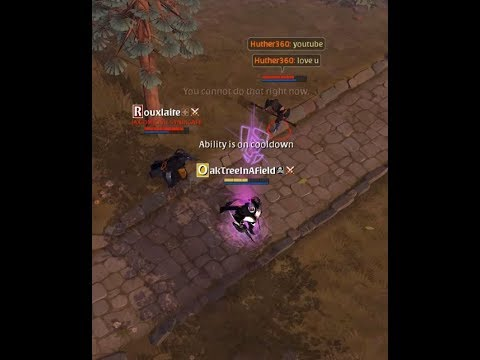 Albion Online PVP Medley With A Couple Of Ox Ganks