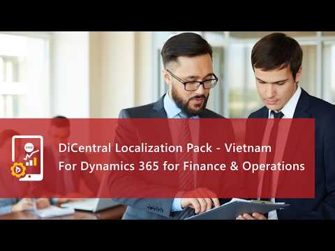 Vietnamese Localization Pack for Dynamics 365 for Finance & Operations