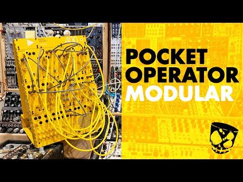Teenage Engineering Pocket Operator Modular 400 // In Depth Demo + Synth Tips