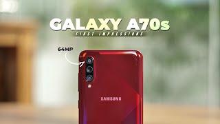 Samsung Galaxy A70s First Impressions!
