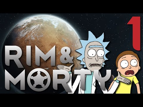 RIM & MORTY | Lambs to the cosmic slaughter! [1] - Rimworld: Royalty Let's Play |