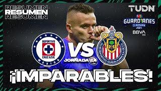 Resumen y goles   Cruz Azul vs Chivas   Torneo Guard1anes 2021 BBVA MX J14   TUDN