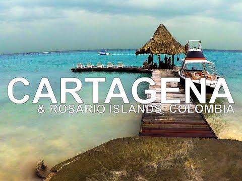 Cartagena, Colombia & Rosario Islands (Islas del Rosario) - Go Pro Feb 2017
