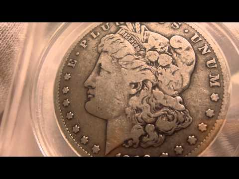 1889 CC Morgan Silver Dollar Coin Review