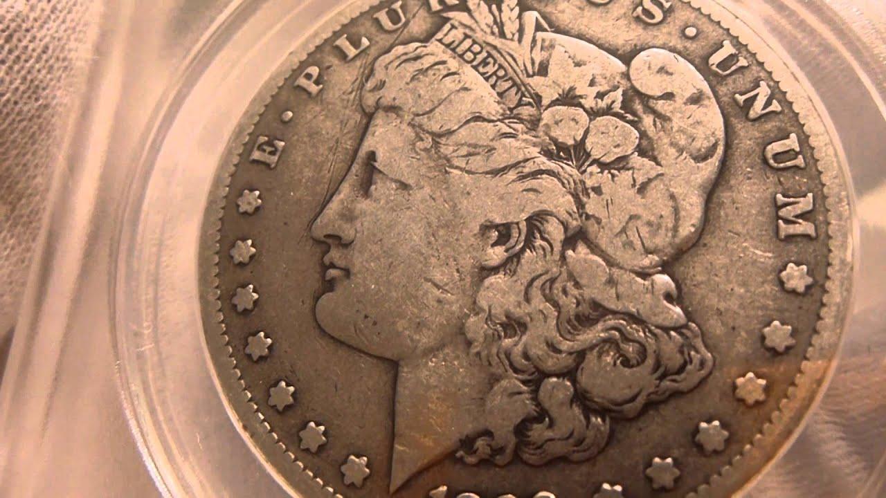 1889 Cc Morgan Silver Dollar Coin Review Youtube