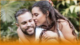 Amiga de Alinne Araújo revela briga familiar antes de fim de noivado