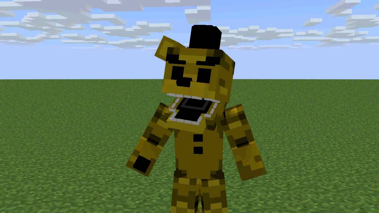 Golden Freddy Rig Test - Minecraft Animation