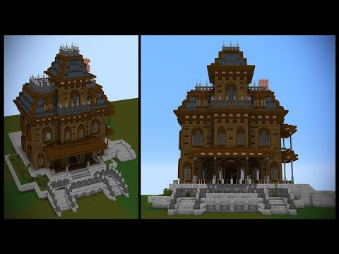 How to make a HAUNTED HOUSE in Minecraft!