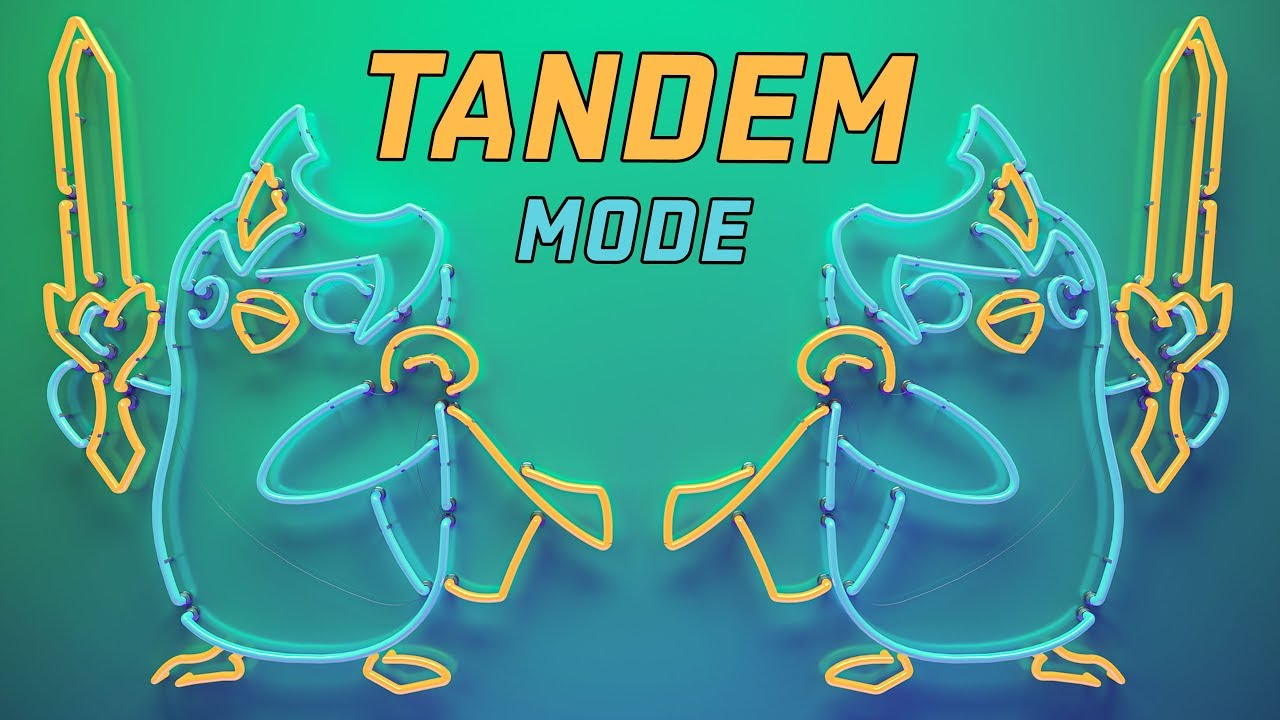 Blue Team vs Red Team [Tandem Mode][All-Star Event 2019][08.12.2019]