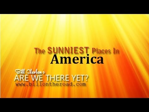 The Sunniest Places In America