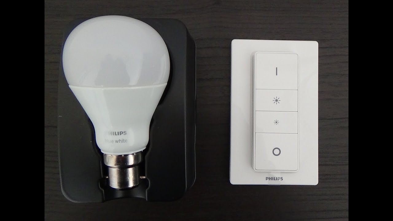 How to setup and pair a Philips Hue dimmer and bulb