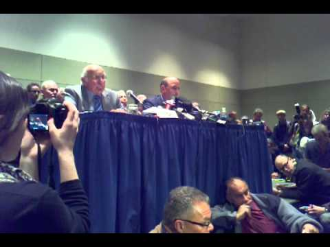 Joe Paterno FIRED    Press Conference