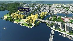 Tampereen keskustan suunnittelua ja hankkeita havainnollistava animaatio