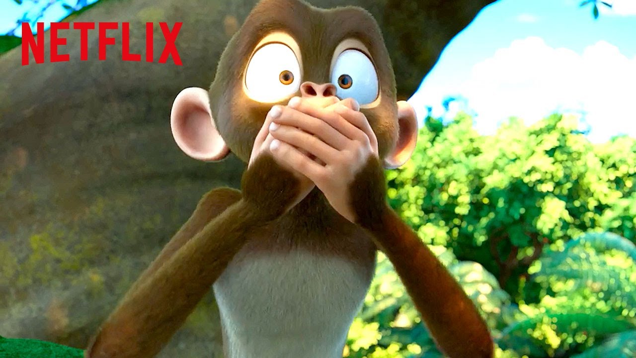 Monkey Talks for the First Time 🙊 Jungle Beat: The Movie | Netflix Futures
