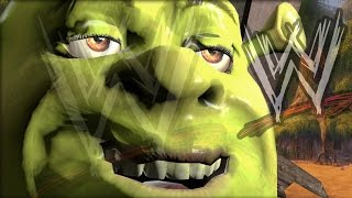 SHREK IS LOVE! (WWE 2K15 Funny Moments) Thumbnail